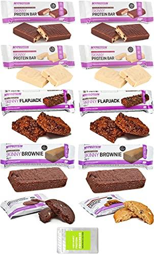 マイプロテイン 低脂質 プロテインバー & 低脂質 プロテインクッキー バラエティ パック(MYPROTEIN PROTEIN Low-Fat Protein bar & Low-Fat Protein Cookie Variety Pack)