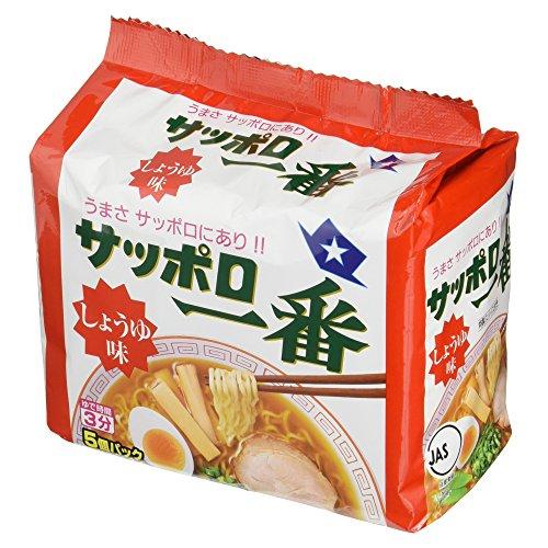 7位:サンヨー食品『サッポロ一番しょうゆ味』