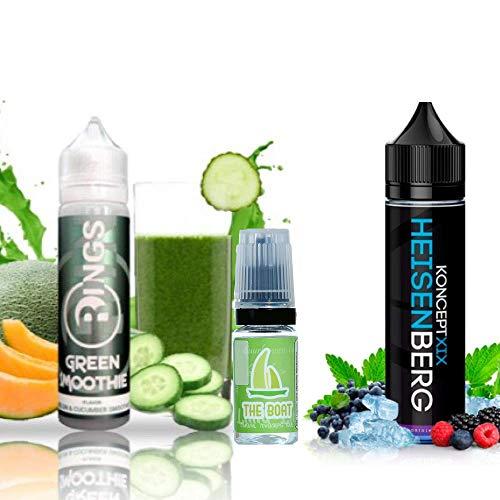 E Liquid Rings Green Smoothie 50ml - 70vg 30pg + E