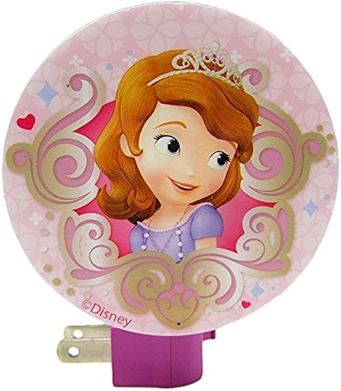 Disney Princess Sofia The First Kids Night Light One Size Pink
