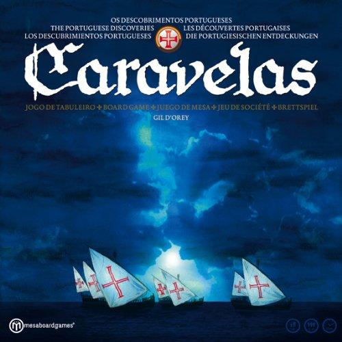 Unbekannt Mesaboardgames MB002 - Caravelas 2nd Edition (mit Deutscher Regel)