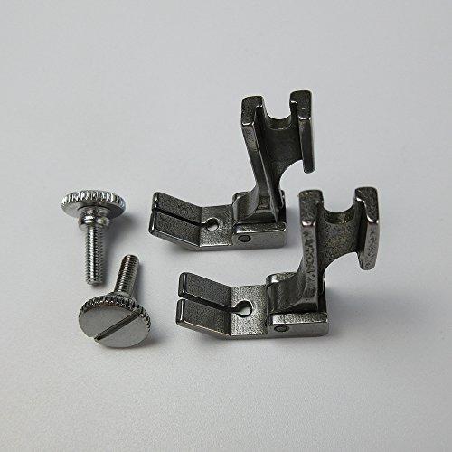 Prensatelas para máquina de coser industrial Juki Ddl-5550 8500 8700 9000 (2 unidades)