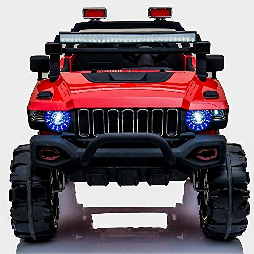 XSLY 135cm Large Seater 12V Kids Ride On Car Electric Truck Motorized Vehicles Child Two-seat...