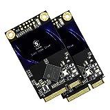 SSD Msata 128GB Shark Internal Solid State Drive Mini Sata SSD Disk 2 Unit Bulk Package Pack (128gb, 2 pcs)
