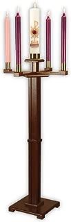 F A Dumont Church Advent Candleholder (Walnut)