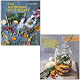 The Handmade Apothecary & The Herbal Remedy Handbook By Kim Walker and Vicky Chown 2 Books Collection Set