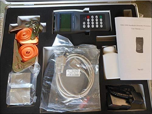 Gowe Handheld Ultraschall-Durchflussmesser (300–6000mm) Linearität: 0,5%