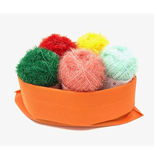 Creativ Bubble 5er Set Mint-gelb-rot-Melone-grün