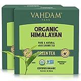 VAHDAM, Biologico Tè verde in foglie dall'Himalaya (30 bustine) - 100% Tè...