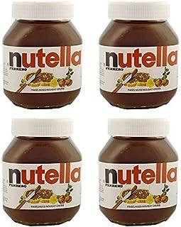 【4個セット】FERRERO(フェレロ) ヌテラ ヘーゼルナッツ チョコレート スプレッド 750g