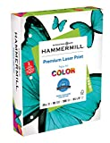 Hammermill Premium Laser Print 24lb 3HP, 8.5x 11 Copy Paper, 1 Ream, 500 Sheets, Made in USA, Sustainably Sourced From American Family Tree Farms, 98 Bright, Printer Paper, 107681R