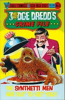 Comic Judge Dredd Crime File #5 Book