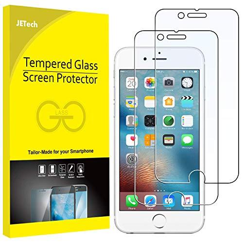 JETech Pellicole Protettive per iPhone 6s Plus / 6 Plus in Vetro Temperto, confezione da 2 pezzi
