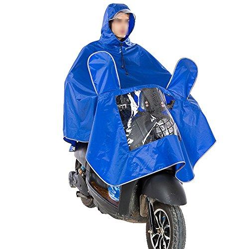 GYL YUYI LWFB Impermeabile/Hooded Cycling Rainwear/Windproof Bike Cloak Rain Poncho/Motorcycle Addensare Rain Cover (4 Colori Disponibili)