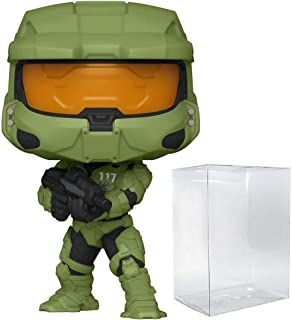 Master Chief with MA40 Pop #13 Pop Games: Halo Infinite Vinyl Figure (Bundled with EcoTEK Plastic Protector to Protect Dis...