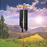 Wind Chimes for People WHO Like Their Neighbors, Soothing Melodic Tones & Solidly Constructed Bamboo/Aluminum Chime, Great as a Quality Gift or to Keep for Your own Patio, Porch, Garden, or Backyard. windchimes May, 2021