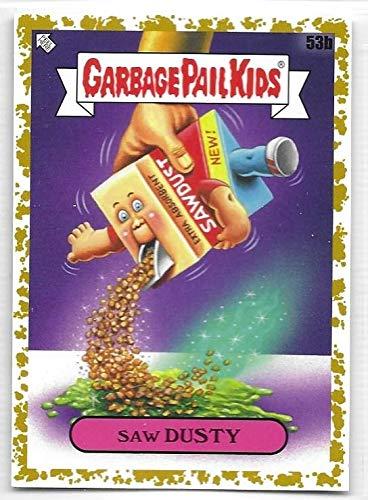 2020 Series 1 GPK Garbage Pail Kids Late to School Gold 53b Saw Dusty