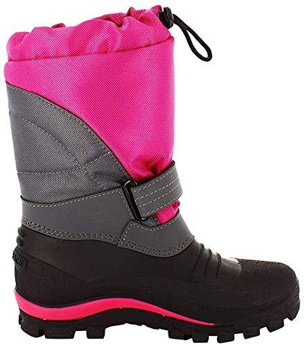 Spirale Unisex dziecięce buty zimowe Sascha, fuksja, 33 EU