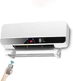 DIHAO Calentador de Agua electrico Calefactor Cerámico Split 1000W / 2000W con Mando a Distancia Función Ventilación, Tecnología Cerámica, protección Sobrecalentamiento