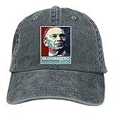 RFTGB Gorras Unisex Accesorios Sombreros Gorras de béisbol Sombreros de Vaquero Michael Bloomberg 2020 Denim Baseball Cap, Unisex Vintage Dad Hat, Golf Hats, Adjustable Plain Cap