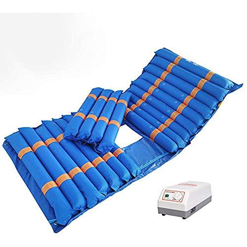 Anti-Decúbito Colchón De Aire Médico con Ajustable del Compresor Y, De Presión Alterna Colchón Inflable del Cojín De La Úlcera para El Cuidado del Hogar Diseño Sin Costuras