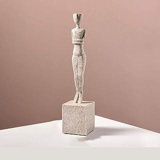Adorno de Vivienda Resina Impermeable, estatuilla de Oscar Creativo Figura Abstracta Decoración de la decoración del Porch...