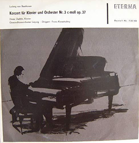 Ludwig van Beethoven - Dieter Zechlin , Gewandhausorchester Leipzig , Franz Konwitschny - Konzert Für Klavier Und Orchester Nr. 3 C-moll Op. 37 - ETERNA - 7 20 168