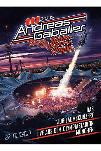 Andreas Gabalier - Best of Volks-Rock'n'Roller - Das Jubiläumskonzert live aus dem Olympiastadion in München [2 DVDs]