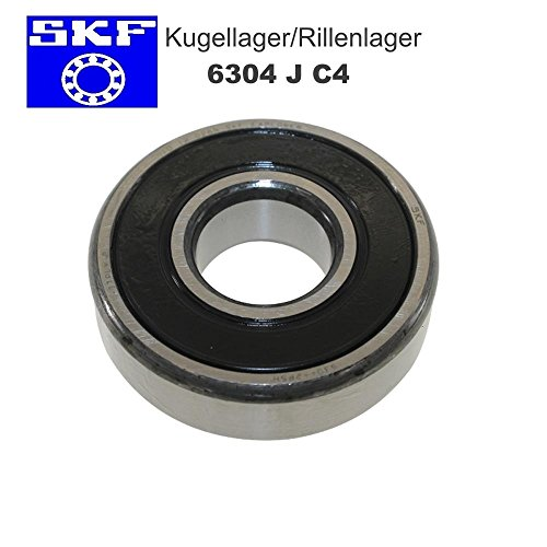 Kogellager groeflager SKF 6304 J C4 20x52x15 voor motorfiets bromfiets quad