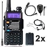 Ham Radio Baofeng Radio 8Watt UHF VHF Dual Band Baofeng Walkie Talkie with 2 Rechargeable 1800mAh Battery Handheld Radio...