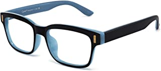 Cyxus Blue Light Glasses Women, Clear Patented HEV-Absorbed Lens, Square Eyeglasses Frame