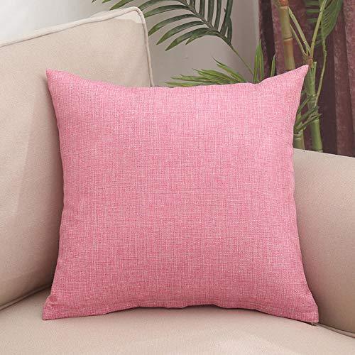 guanciali, cuscino ideale per tutti i letti, offerta, confortevole -Rosa_40x40cm.