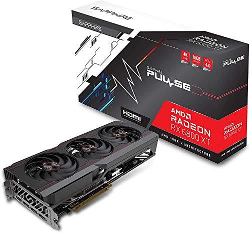Sapphire Pulse Radeon RX 6800 XT Gaming OC 16GB GDDR6 HDMI/Triple DP
