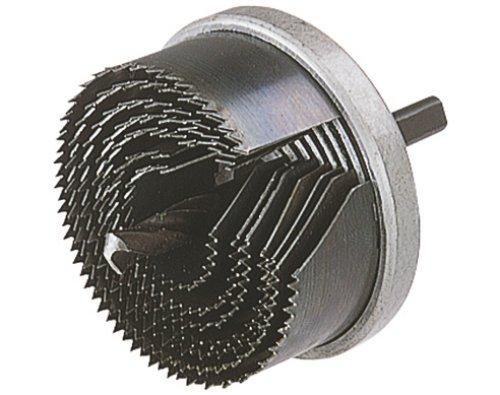 Wolfcraft Standard-Lochsäge Ø 25, 32, 38, 45, 50, 56, 62 mm / Für Holz, Gipskartonplatten, Bauplatten
