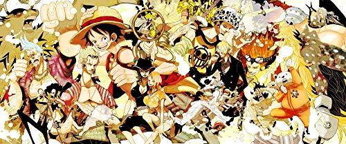 Slbtr [Últimas Noticias] DIY Lienzo Pintura - Póster One Piece Luffy -Pintura por Numero Kits Decoración del Hogar 16*20 Pulgadas Regalos para Principiantes Amigos Y Niños En Pintura- Sin Marco