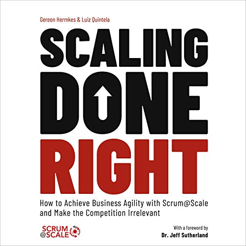 Scaling Done Right Audiobook By Gereon Hermkes, Luiz Quintela cover art