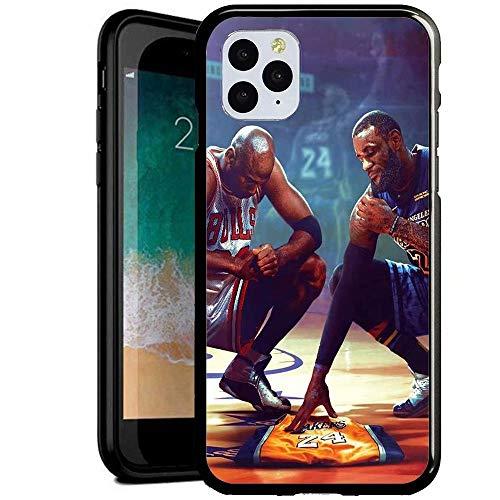 Compatible con iPhone 6/6s Funda, Carcasa con patrón Diseño Bordes en Suave TPU Silicona Híbrida Tempered Vidrio para iPhone 6S/iPhone 6 (FFGS500004)