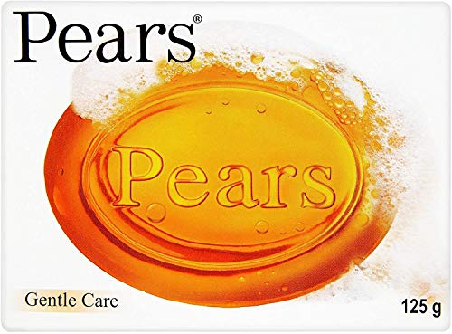 6x Pears Transparent Original Gentle Care Soap 125g by Pears