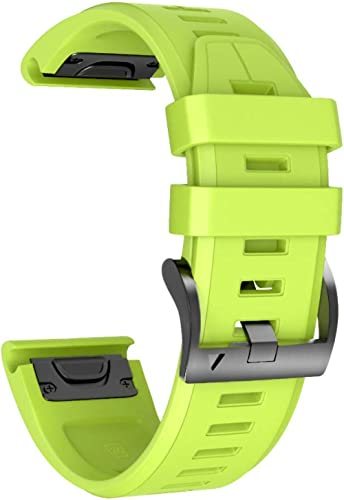 NotoCity Correa para Garmin Fenix 3/3 HR/Fenix 5X/5X Plus/Fenix 6X/6X Pro, Correa de Silicona 26mm, Banda de Reloj De...