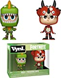 "Funko 35273 VYNL 4"" 2-Pack: Fortnite: Rex & Tricera Ops, Multi..."