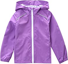 girls monogrammed rain jacket
