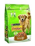 Friskies - Adulto - Alimento para Perros Seco con Aves Y Verduras Añadidas - 3 Kg