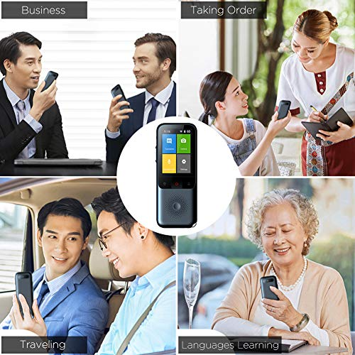 Smart Voice Language Translator Device, Portable Translator Real-time, Voice/Photo/Recording Translation, WiFi/Hotspot/Offline, Support 137 Languages Photo #6