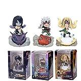 3 Piezas Naruto Figura Orochimaru Tsunade Jiraiya Q Ver. Figuras De Acción Colección De PVC Juguetes Modelo Regalos para Niños