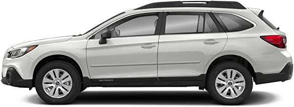 Dawn Enterprises FE-Outback Finished End Body Side Molding Compatible with Subaru Outback - Venetian RED Pearl (H2Q)