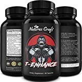 Natural Testosterone Booster for Men - Male Enhancement Supplement Estrogen Blocker Energy Pills for Enlargement Muscle Builder and Mood Boost - Male Enhancing Energy Supplement Product Name