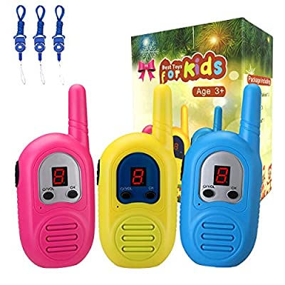 inYYTer Walkie Talkies for Kids by inYYTer