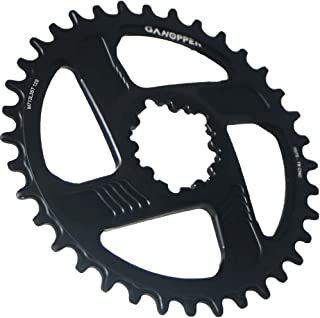 GANOPPER 12s Direct Mount 6mm Offset Single Chainring Narrow Wide Teeth 1X MTB Crankset Chain Rings