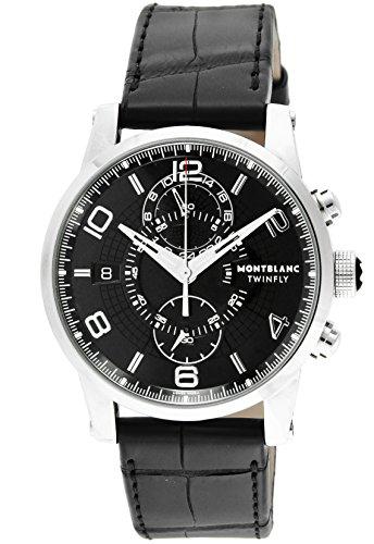 Montblanc Reloj de hombre automático 43mm correa de cuero de cocodrilo 105077