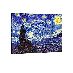 Vincent Van Gogh's Starry Night Print Canvas